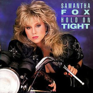 Hold On Tight (Samantha Fox song) - Image: Samantha Fox Hold On Tight Single Cover