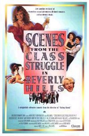 Scenes from the Class Struggle in Beverly Hills - Theatrical release poster