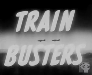 Train Busters - Title card