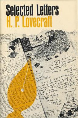 Selected Letters of H. P. Lovecraft IV (1932–1934) - Dust-jacket by Ronald Rich and Gary Gore for Selected Letters IV (1932-1934)