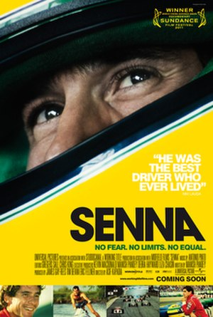 Senna (film) - Theatrical release poster