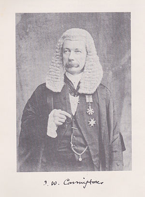 Chief Justice of the Supreme Court of Hong Kong - Image: Sir John Worrell Carrington