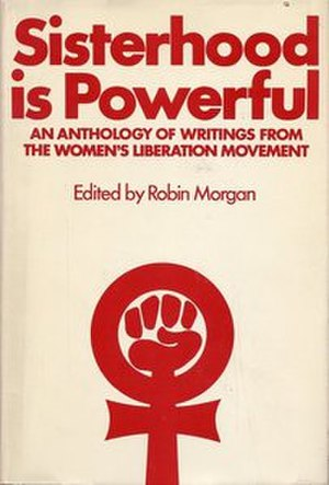 Sisterhood Is Powerful - Cover of the first edition