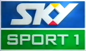 Sky Sport (New Zealand) - One of the previous Sky Sport 1 logos used from 2003-2008