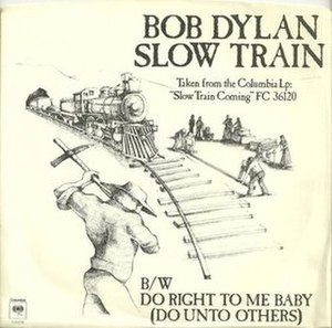 Slow Train (Bob Dylan song) - Image: Slow Train cover