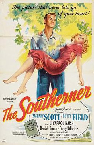 The Southerner (film) - Theatrical release poster
