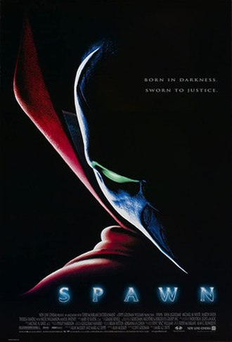 Spawn (film) - Theatrical release poster