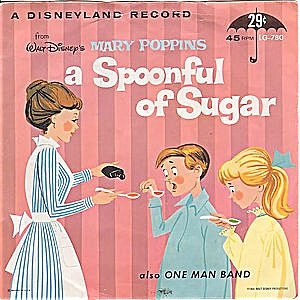 A Spoonful of Sugar - Image: Spoonful of Sugar 45 cover