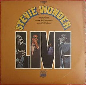 Stevie Wonder Live - Image: Stevie Wonder Live (1970 album) cover art