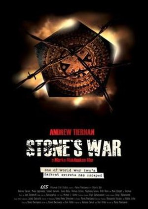 War of the Dead - Pre-release poster as Stone's War