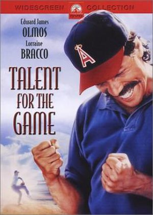 Talent for the Game - DVD cover