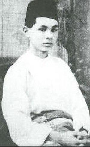 Baju Melayu - Tani Yutaka, the Malaya-born Japanese secret agent, photographed in Baju Melayu.