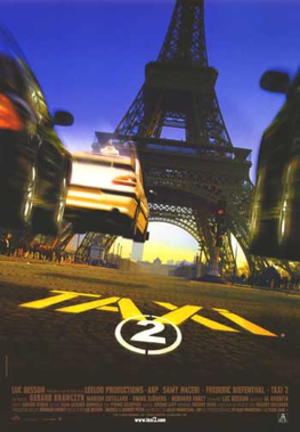 Taxi 2 - Theatrical release poster