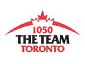 The Team (radio network) - The Team logo, branded for 1050 Toronto