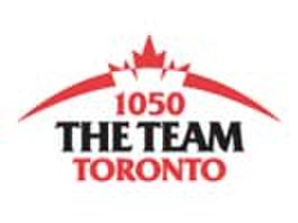 CHUM (AM) - Team 1050 logo