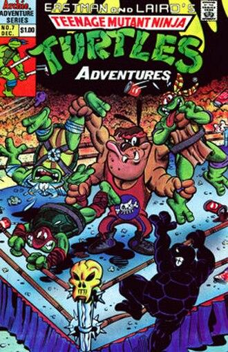 Teenage Mutant Ninja Turtles Adventures - Image: Teenage Mutant Ninja Turtles Adventures cover