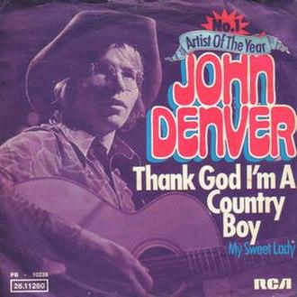 Thank God I'm a Country Boy - Image: Thank God I'm a Country Boy