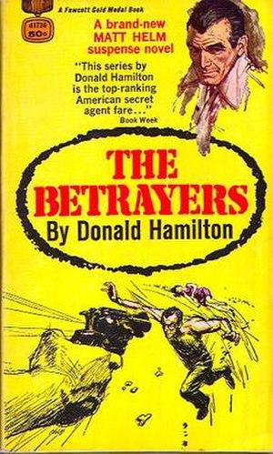 The Betrayers - Original 1966 paperback cover