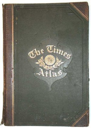 Times Atlas of the World - First (1895) edition