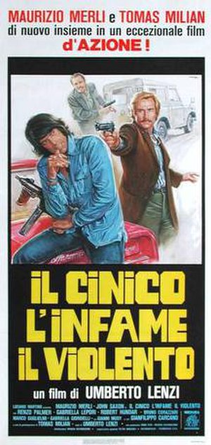 The Cynic, the Rat and the Fist - Italian film poster