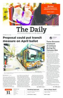 <i>The Daily of the University of Washington</i> newspaper in Seattle, Washington