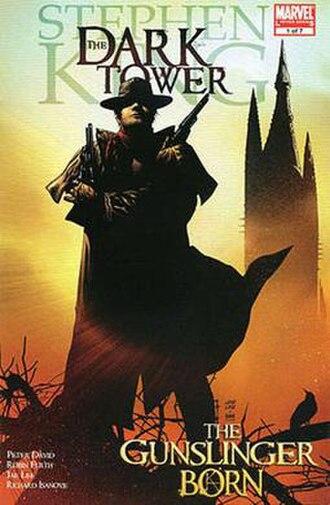 The Dark Tower (comics) - Image: The Dark Tower The Gunslinger Born issue 1 cover art