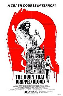 <i>The Dorm That Dripped Blood</i> 1982 film by Stephen Carpenter, Jeffrey Obrow