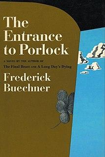 <i>The Entrance to Porlock</i> 1970 novel by Frederick Buechner
