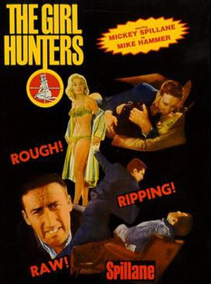 Mike Hammer - DVD cover of The Girl Hunters