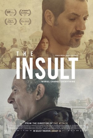 The Insult (film) - Film poster