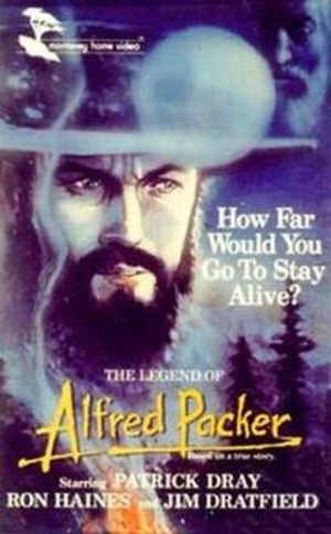 The Legend of Alfred Packer - Video release cover
