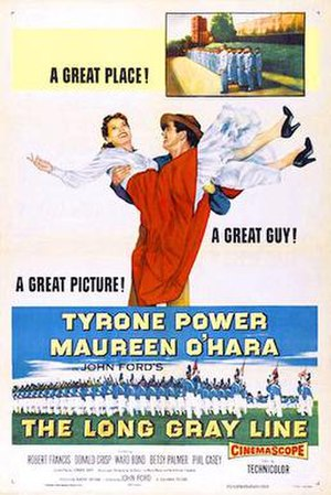 The Long Gray Line - 1955 Theatrical Poster