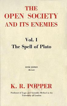 The Open Society and Its Enemies (volume one).jpg