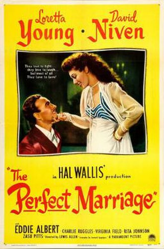 The Perfect Marriage - Theatrical release poster