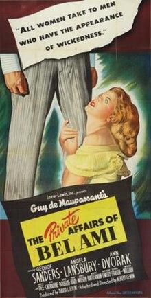 La senrangulo Affairs of Bel Ami-poster.jpg