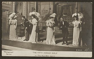 The Red Mill - Photo from the 1906 production