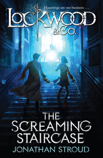 The Screaming Staircase - UK cover
