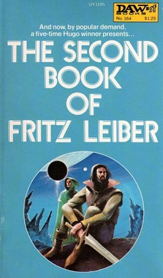 The Second Book of Fritz Leiber - Cover of The Second Book of Fritz Leiber