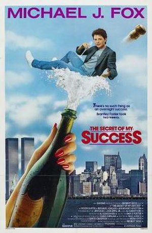 The Secret of My Success (1987 film) - Theatrical release poster