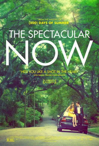 The Spectacular Now - Theatrical release poster
