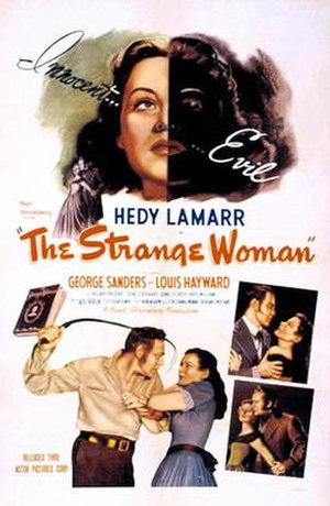 The Strange Woman - Image: The Strange Woman 1946 poster