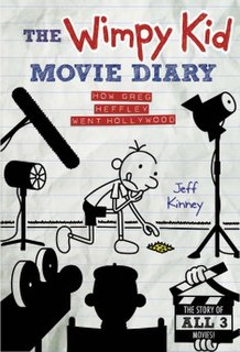 <i>The Wimpy Kid Movie Diary</i> book by Jeff Kinney