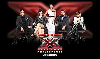 The X Factor Philippines - The X Factor Philippines judges and host; from left: Martin Nievera, Pilita Corrales, KC Concepcion, Gary Valenciano and Charice.