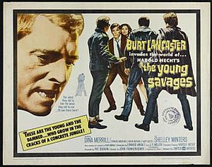 The Young Savages - Image: The Young Savages poster