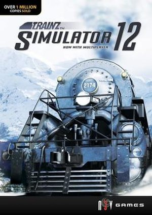 Trainz - Box art for 32 bit Trainz Simulator 12