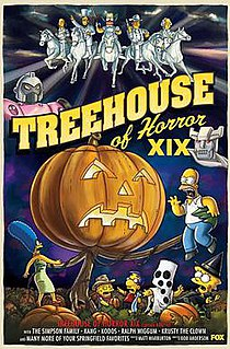 Treehouse of Horror XIX 4th episode of the twentieth season of The Simpsons