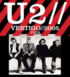 Vertigo Tour tour by the Irish rock band U2