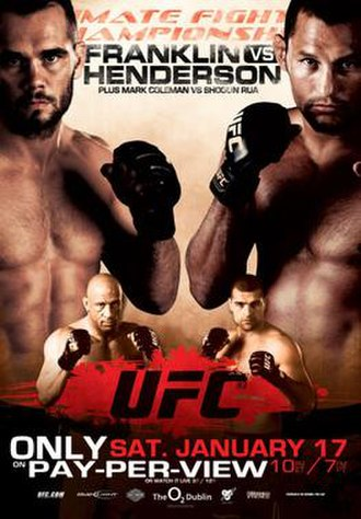 UFC 93 - Image: Ufc 93poster
