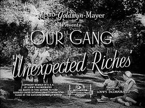 Unexpected Riches - Image: Unexpectedriches TITLE