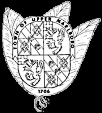 Upper Marlboro, Maryland - Image: Upper Marlboro Town Seal
